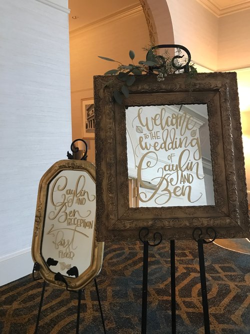 Copy of Mirror Calligraphy