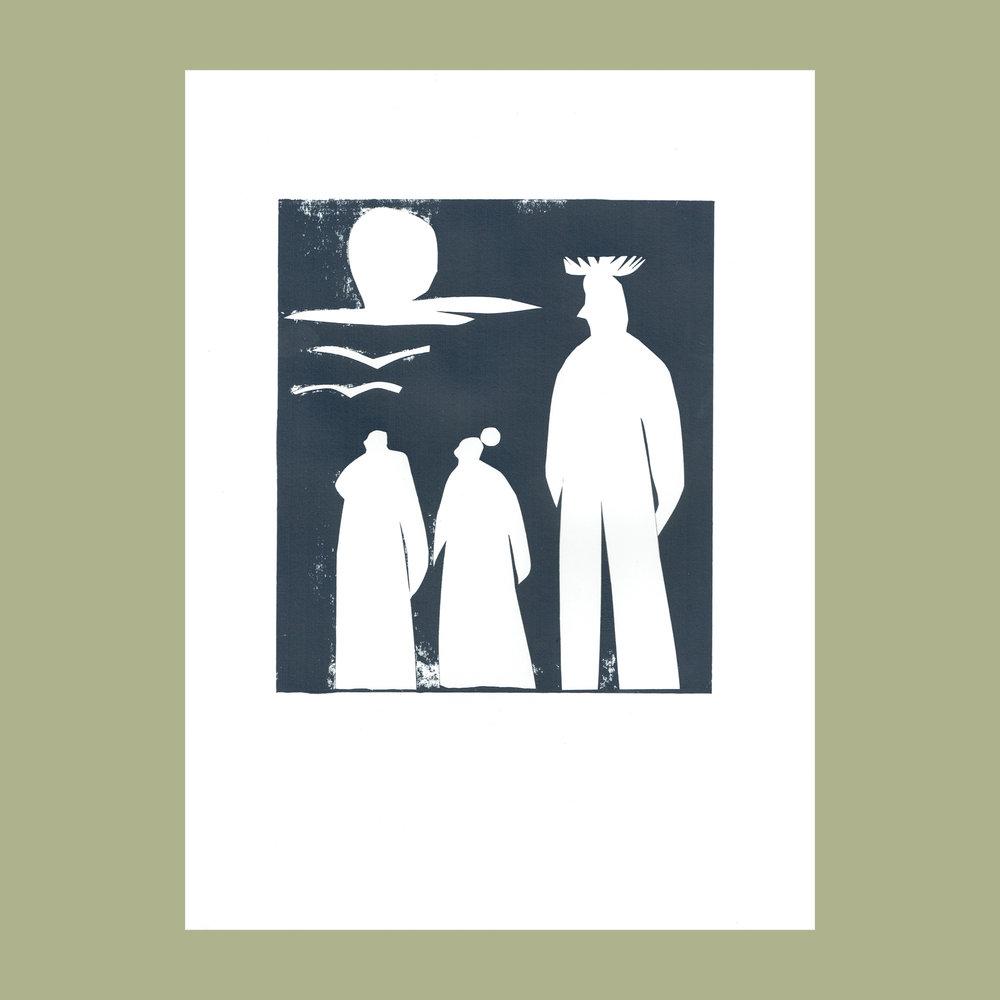 Grace Attlee, Grace Attlee illustration, illustrator, collage, screen print, Margate illustrator
