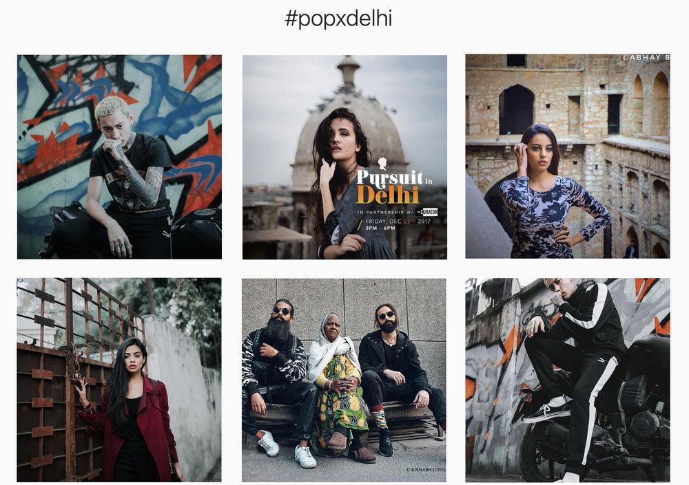 Select photos above via  #PoPxDelhi