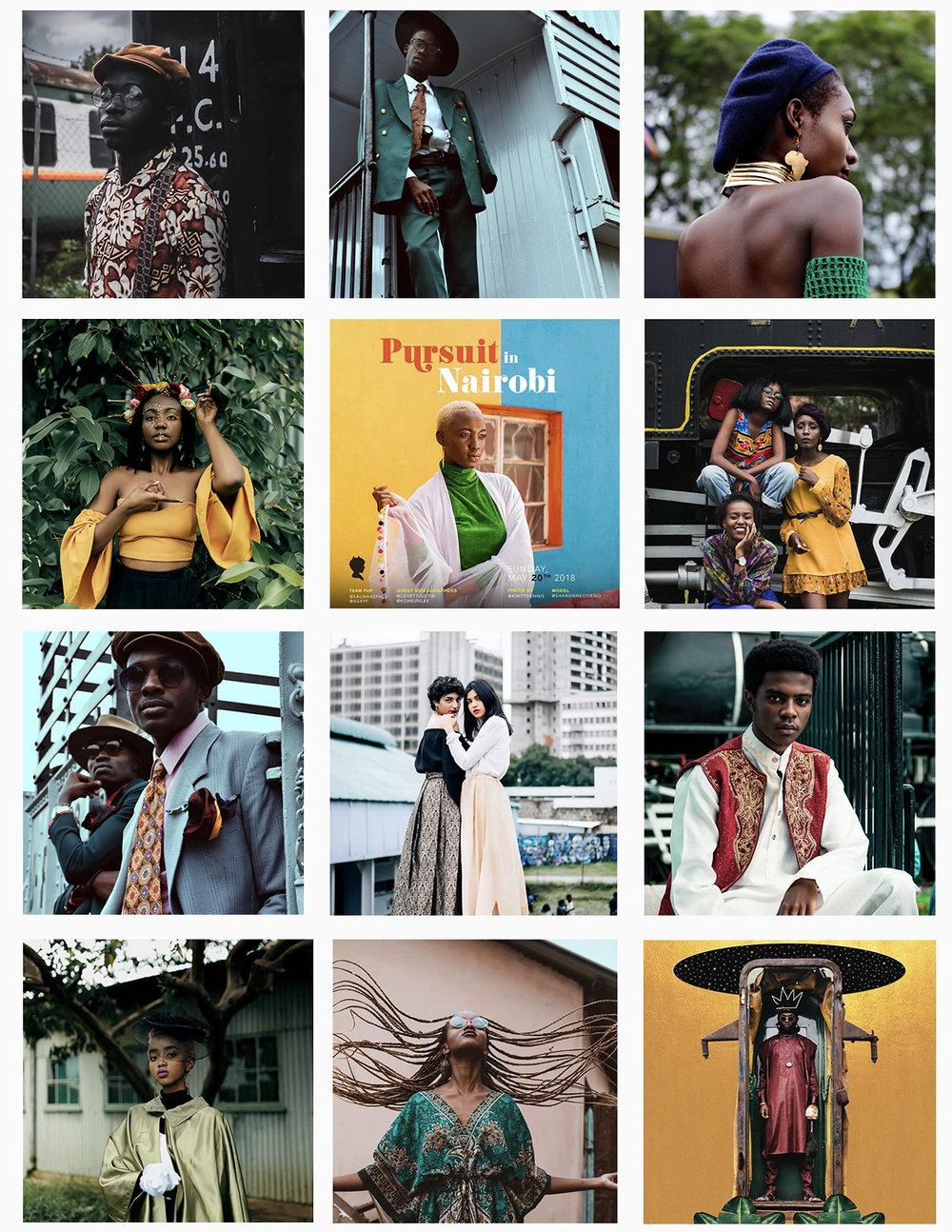 Photos above aggregated via  #PoPxNairobi