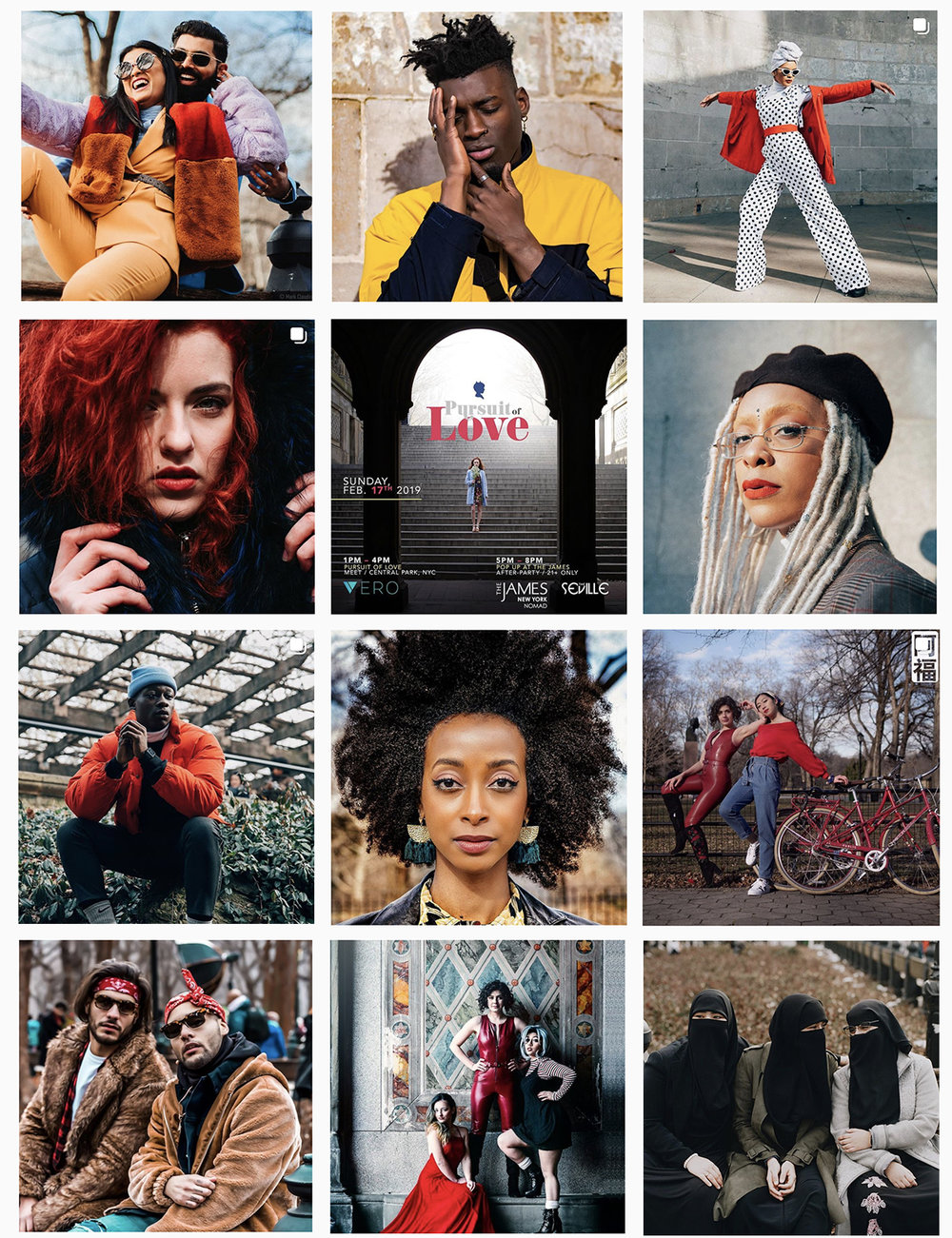 Photos above aggregated randomly via    #PoPxLove