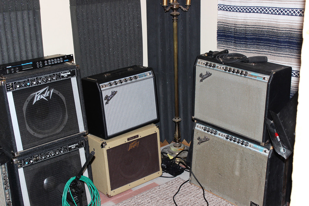 A few amps lying around