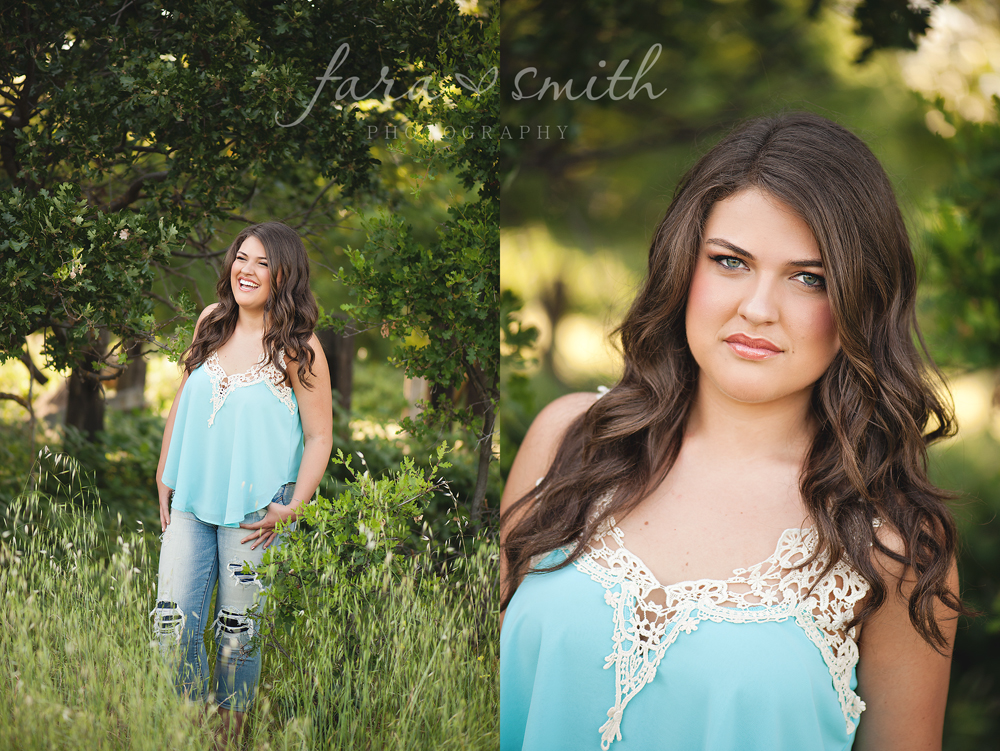 Roseville High School senior portraits
