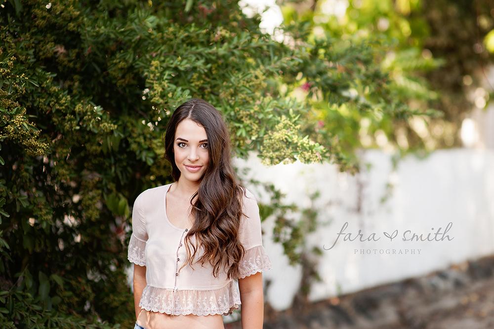 Whitney High School senior portrait photographer