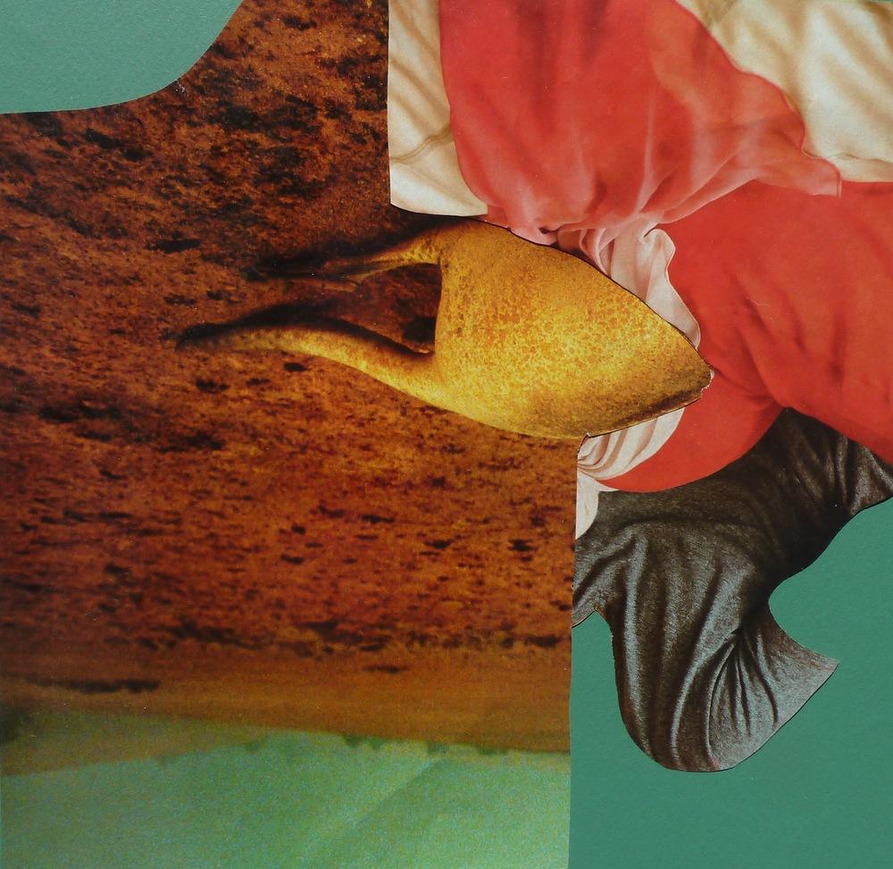Interloper, 2015, Collage, 9 x 9 in.