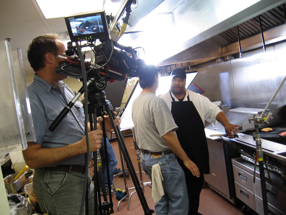 Kitchen Location Shoot