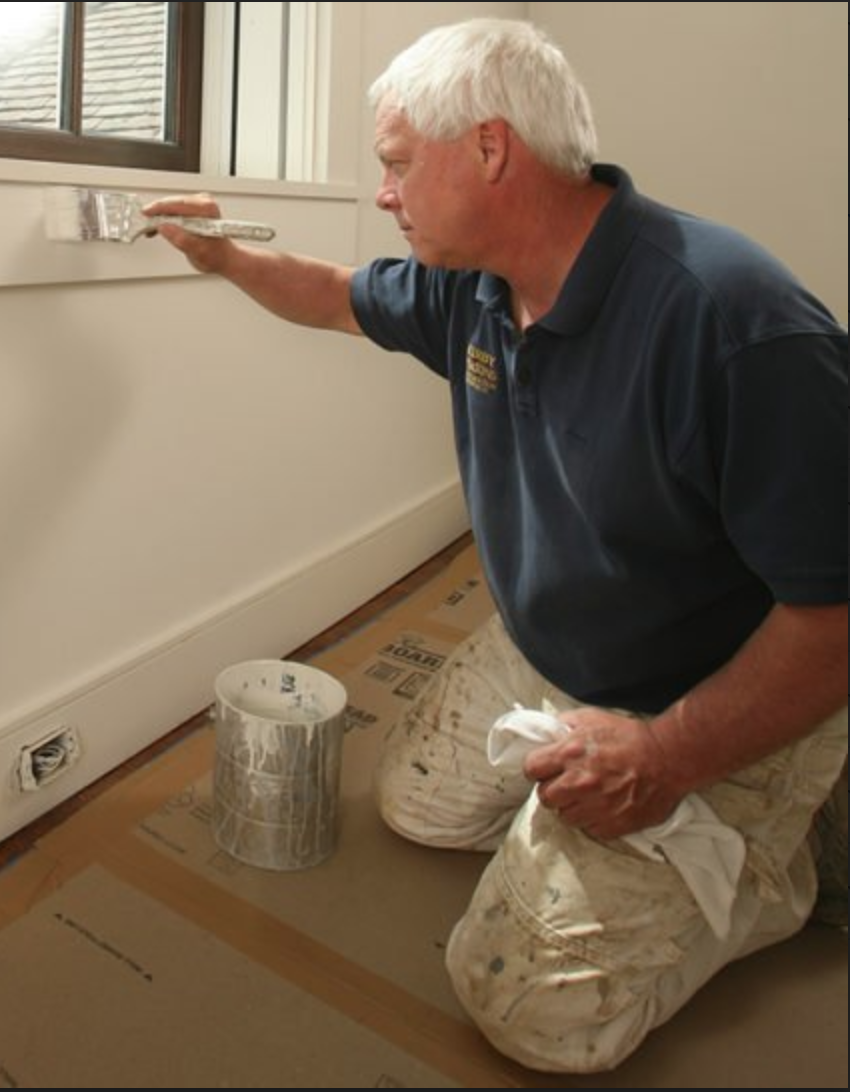 Window and Door Trim Painting