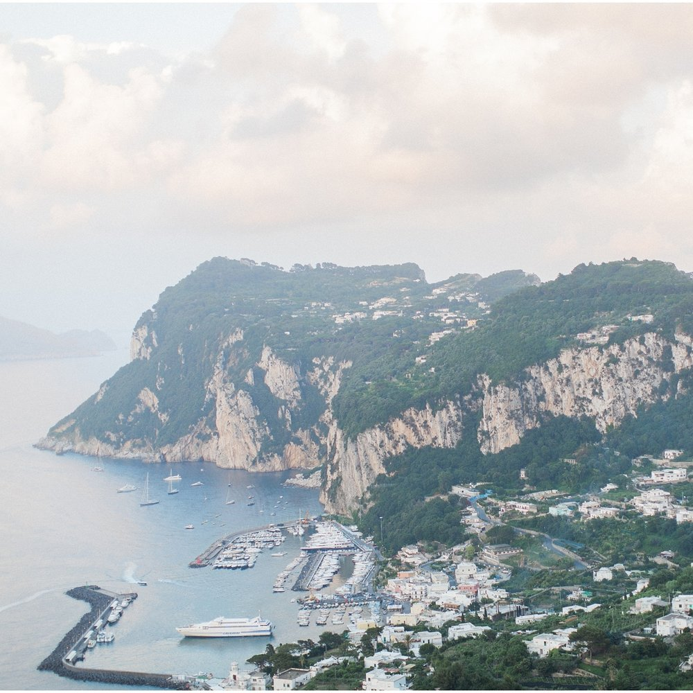 Destination Wedding in Capri, Italy