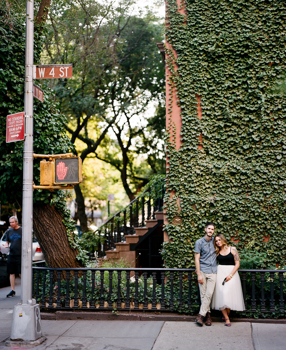Lindsey & Greg in New York City
