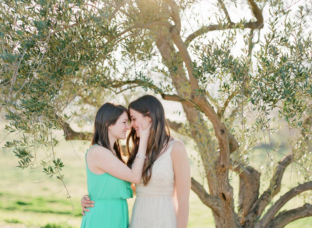 Lauren & Janah in California