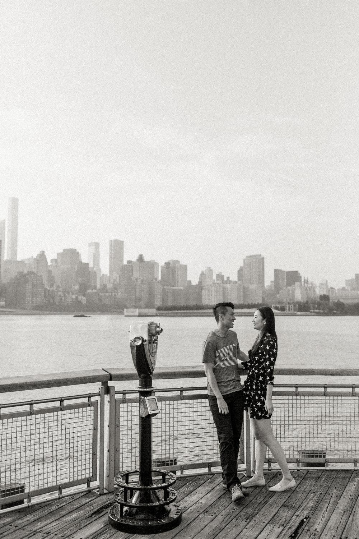Julia & Jeff in Long Island City