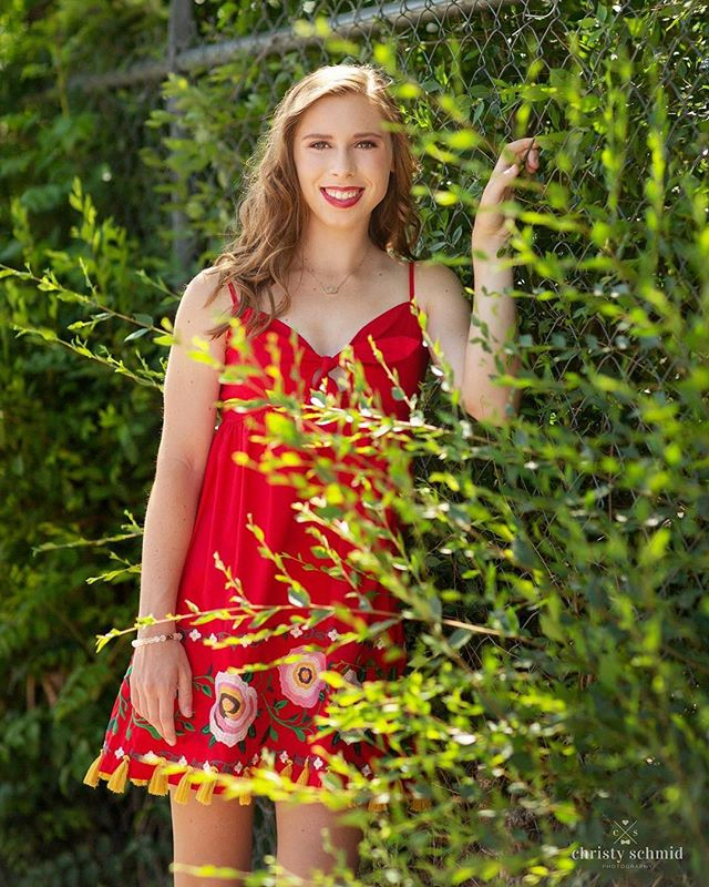 Gorgeous Georgia in red... #christyschmidphotography #arkansasseniorphotographer #arkansassenior #classof2018 #seniorinspire #modernteenstyle #modernsenior #seniorstyleguide
