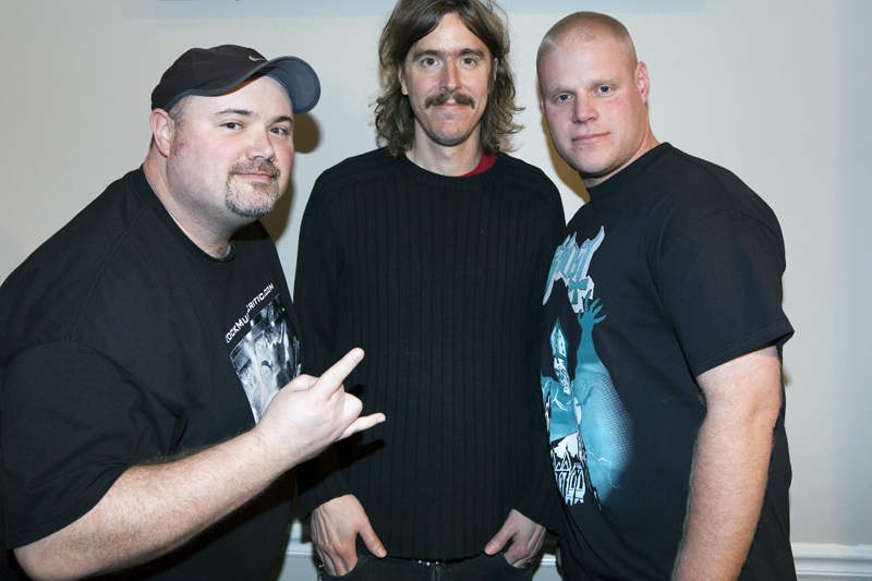 Mikael Akerfeldt of Opeth with George & Buke
