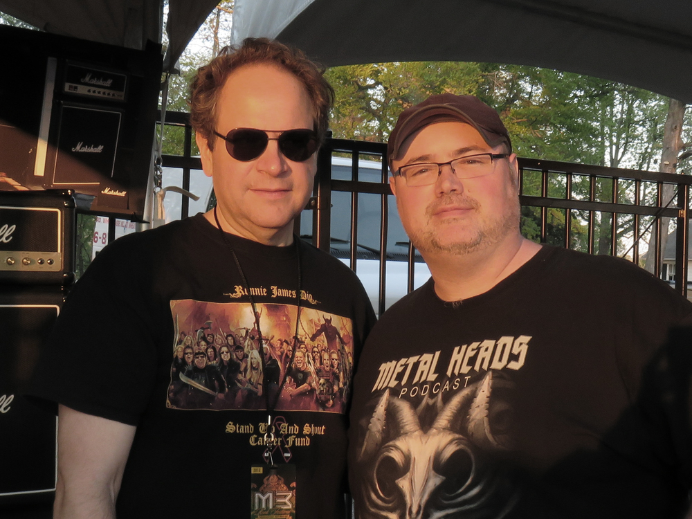 Eddie Trunk & George