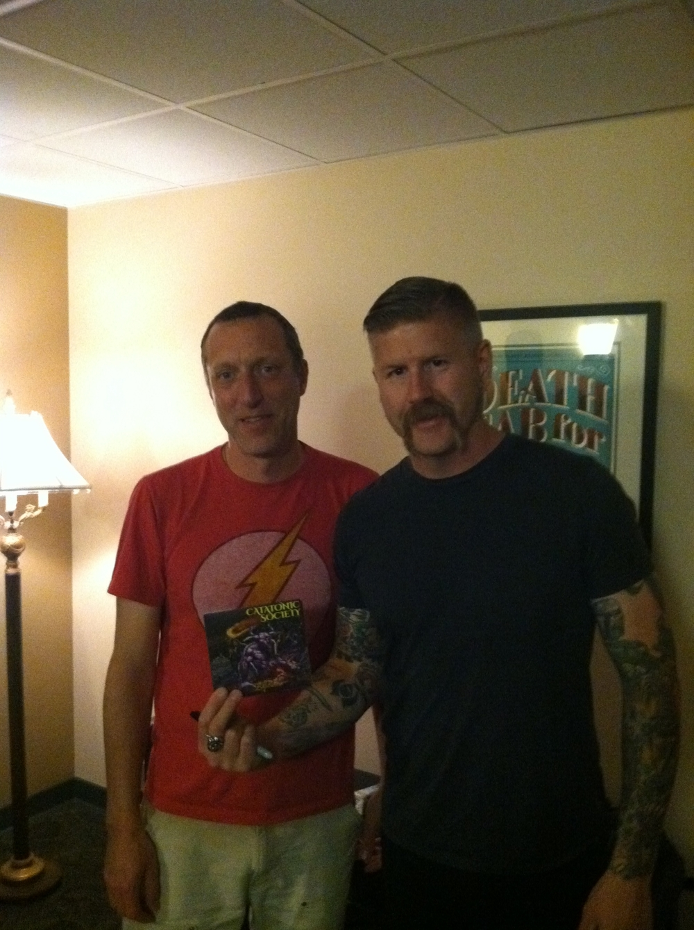 Jay & Bill Kelliher of Mastodon
