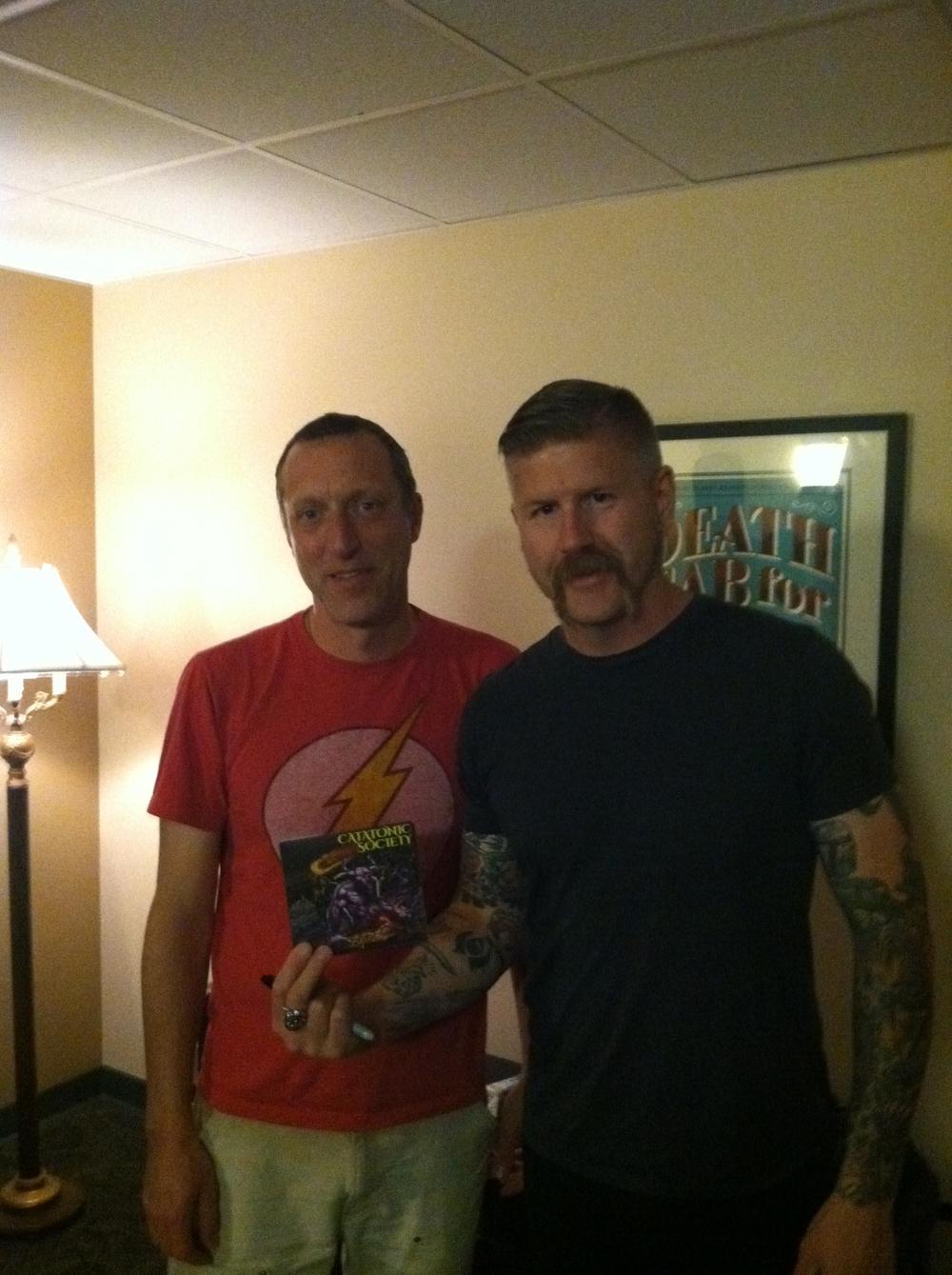 Jay & Bill Kelliher of Mastodon