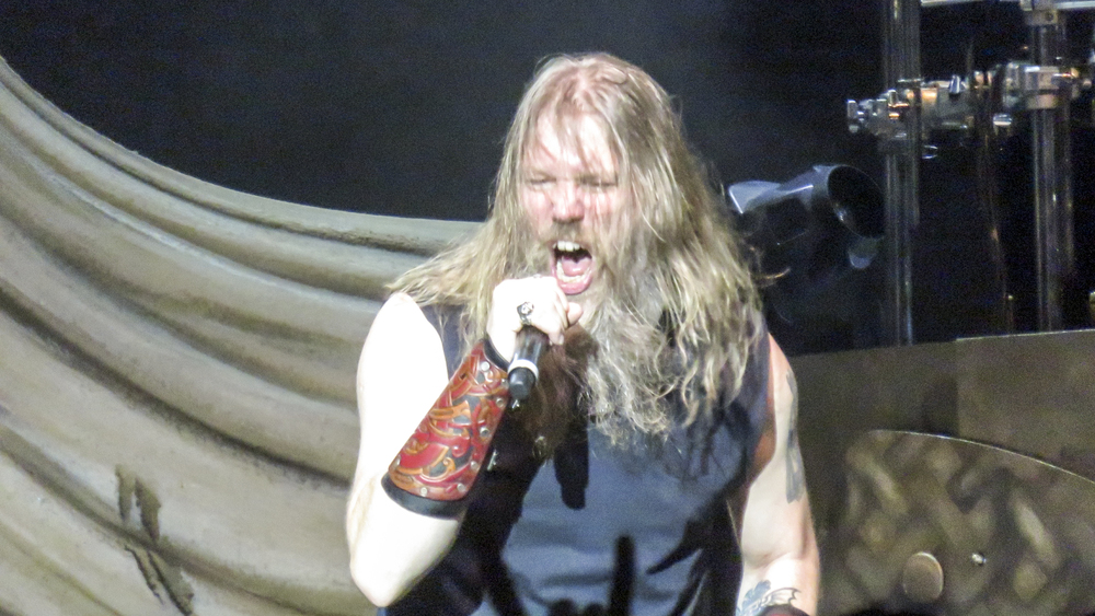 Johan Hegg of Amon Amarth