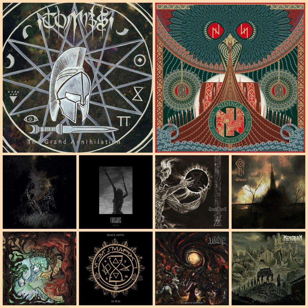 Best Metal Albums Of 2017 Midyear George Metalheads