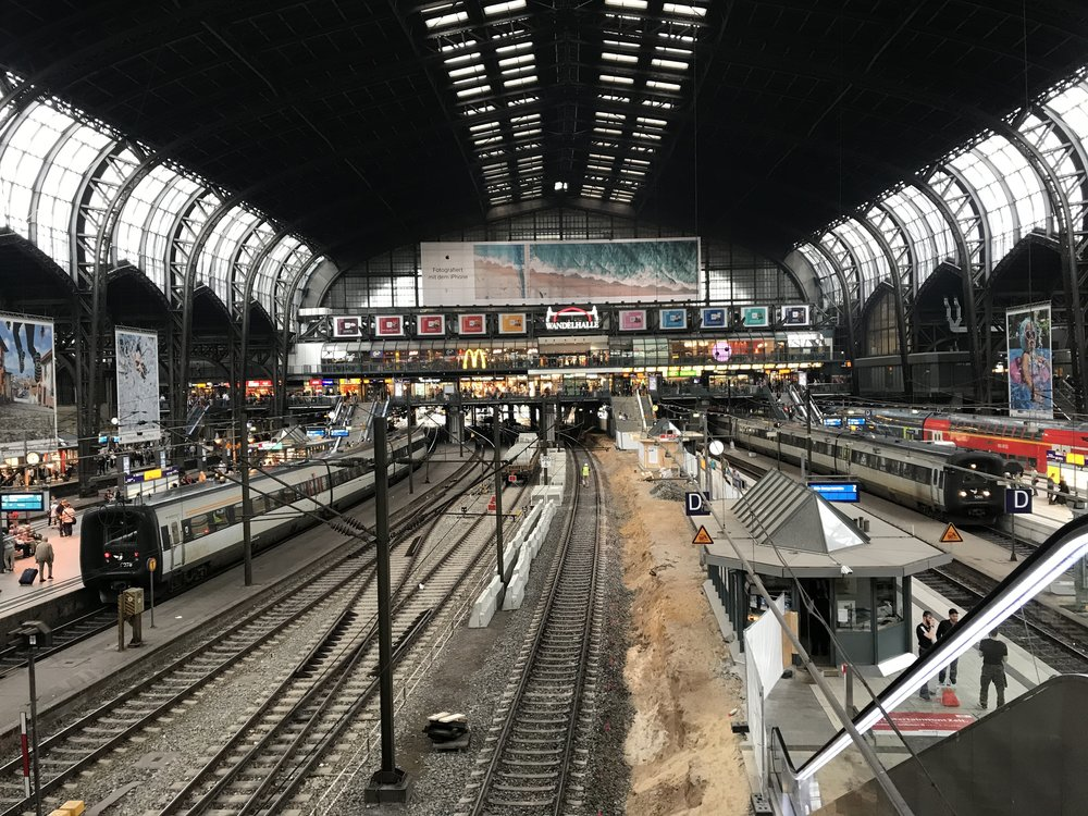 Hamburg central train station