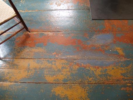 Design Snapshot Painted Floor Patina Katie Hutchison Studio