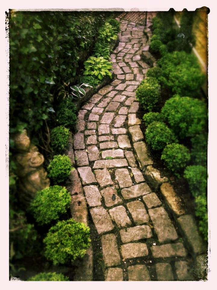 Meandering path
