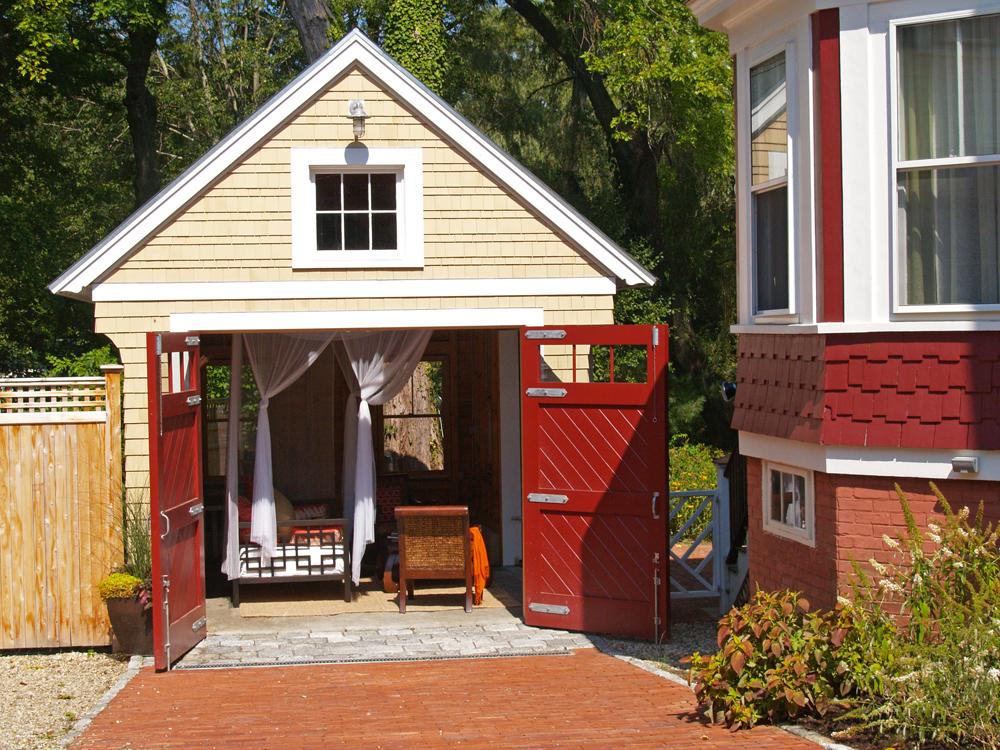 Manchester Garage Garden Room Katie Hutchison Studio