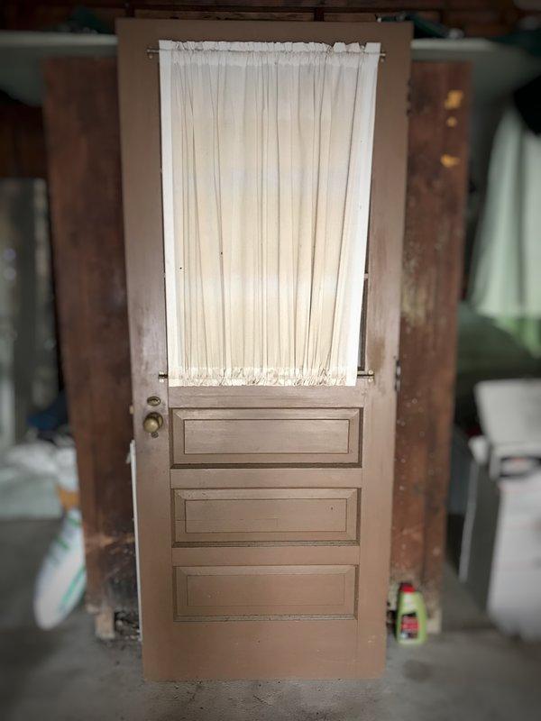 original vintage door