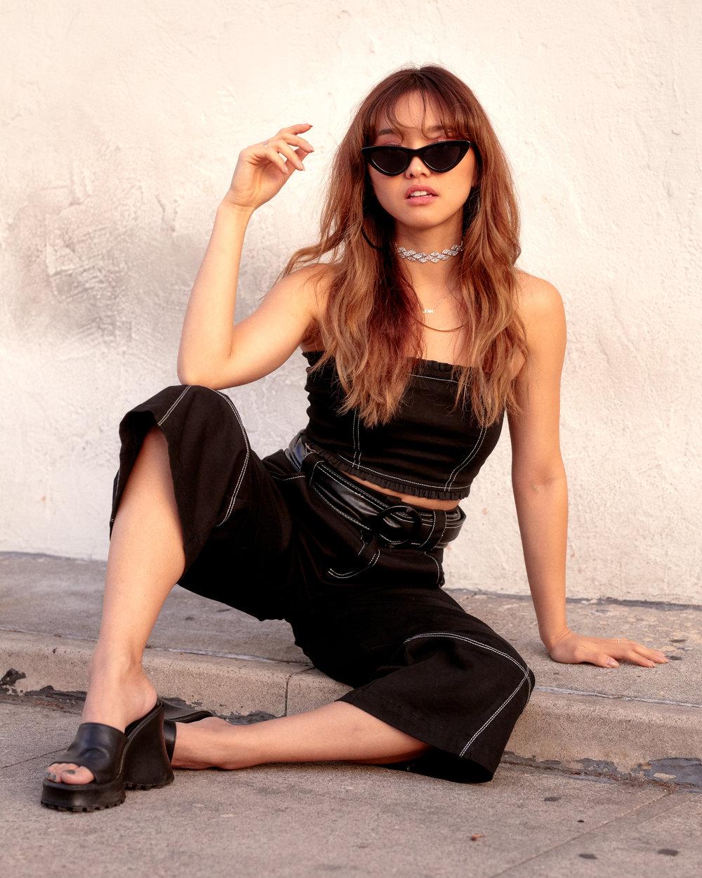 Jenn Im for The Eggie Shop, Styled by Kaemi Shot by Keith Oshiro