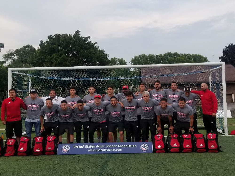 San Nicolas - 2018 -  Final 4: Amateur Cup in Milwaukee Wisconsin