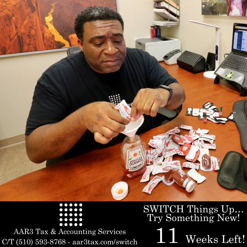 AAR3 Tax & Accounting Services Tax Season 2018 Countdown #aar3tax  #AndreReese #T3RBrands #t3tRetail #Ketchup week 11.png