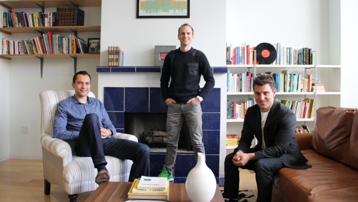 Blecharczyk, Gebbia and Chesky - Airbnb founders who became billionaires by finding folks to crash on your couch - Photo: Forbes.com
