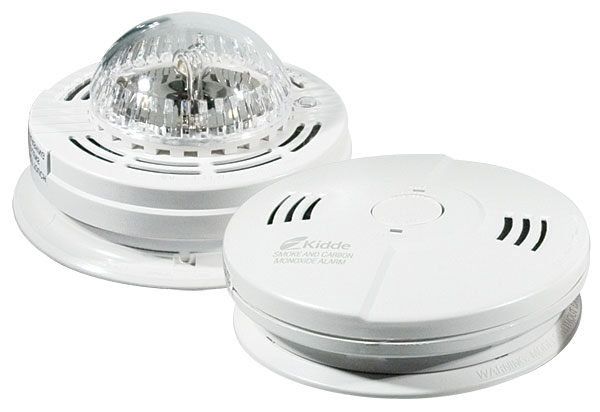 Interconnected system of Smoke/Strobe/CO alarms