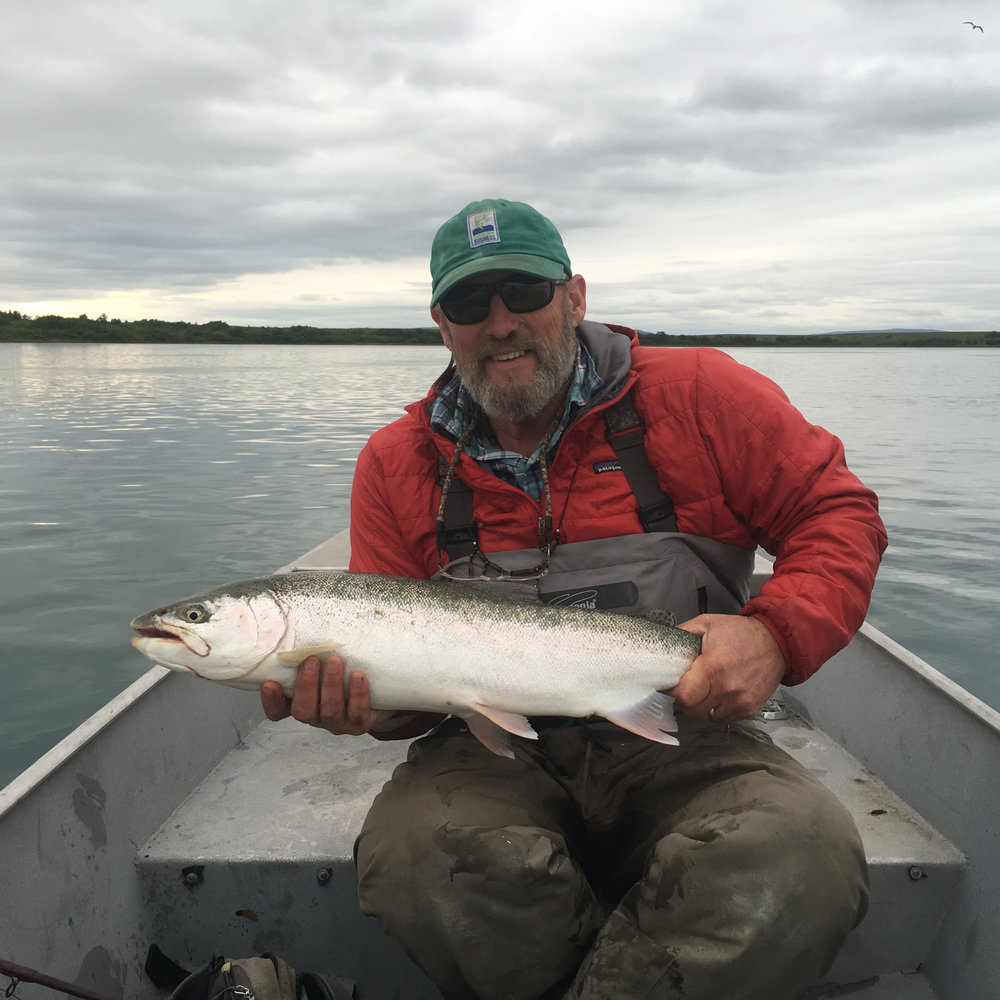 Matt Luck in Bristol Bay