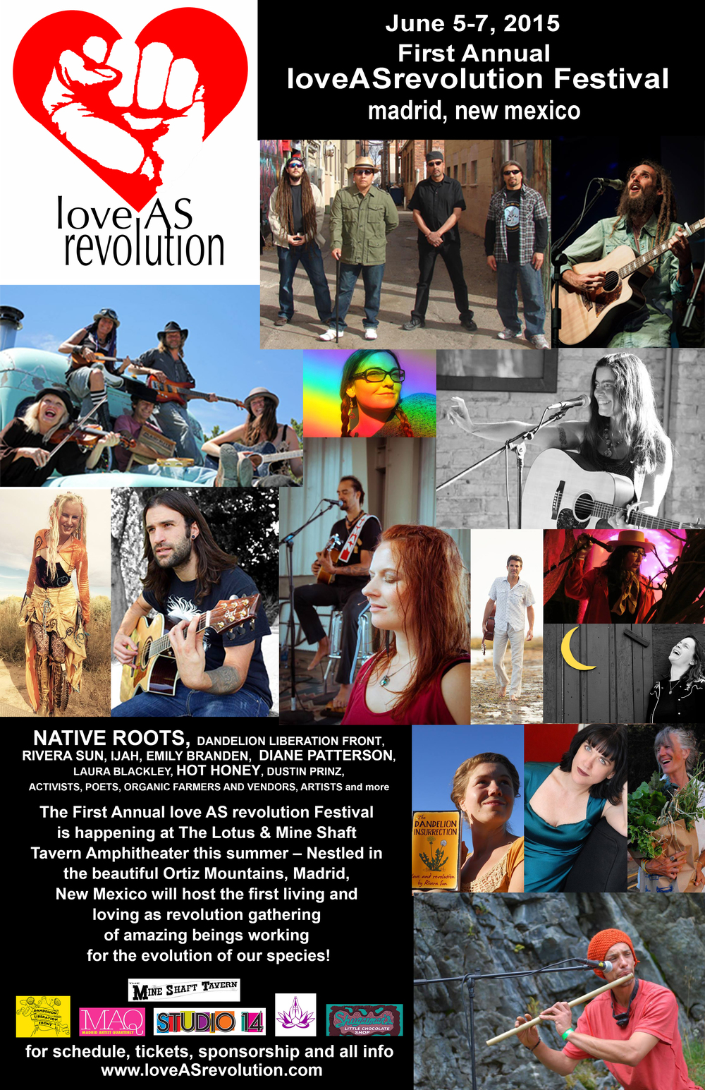 loveASrevolution Festival 2015