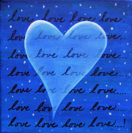 Transparent Love (Blue)