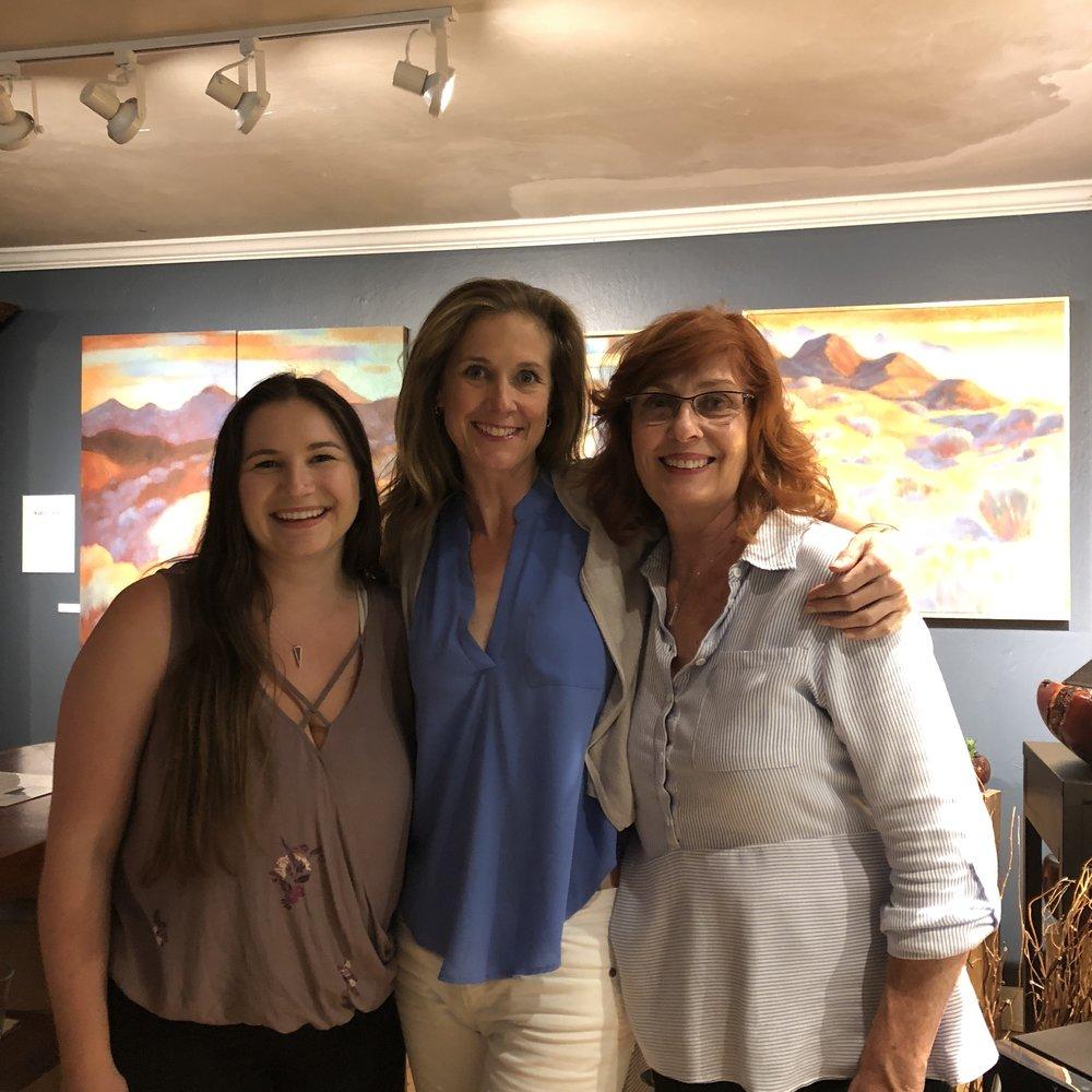 The ladies of Big Sur Vineyards