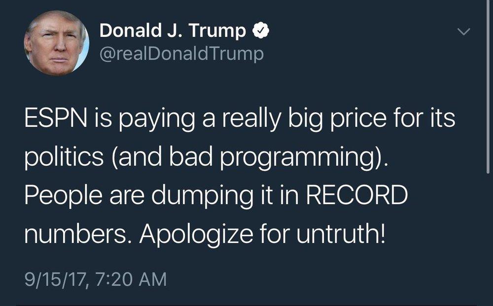 45's Tweet