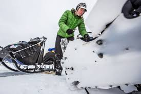 Broken sled in Nikolai.jpg