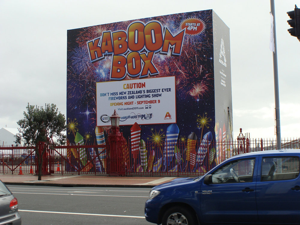 Kaboom Box – Queens Wharf