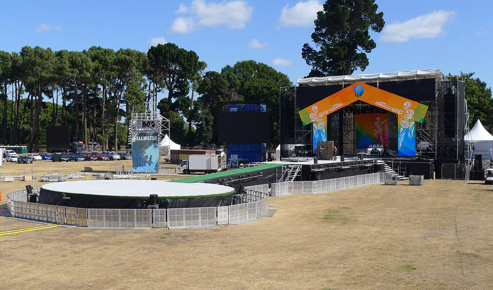 CWC 2015 Opening – Hagley Park, CHC
