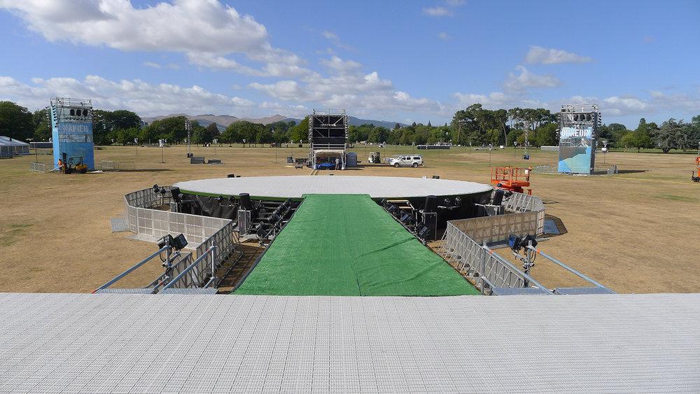 CWC 2015 Opening – Hagley Park, CHC