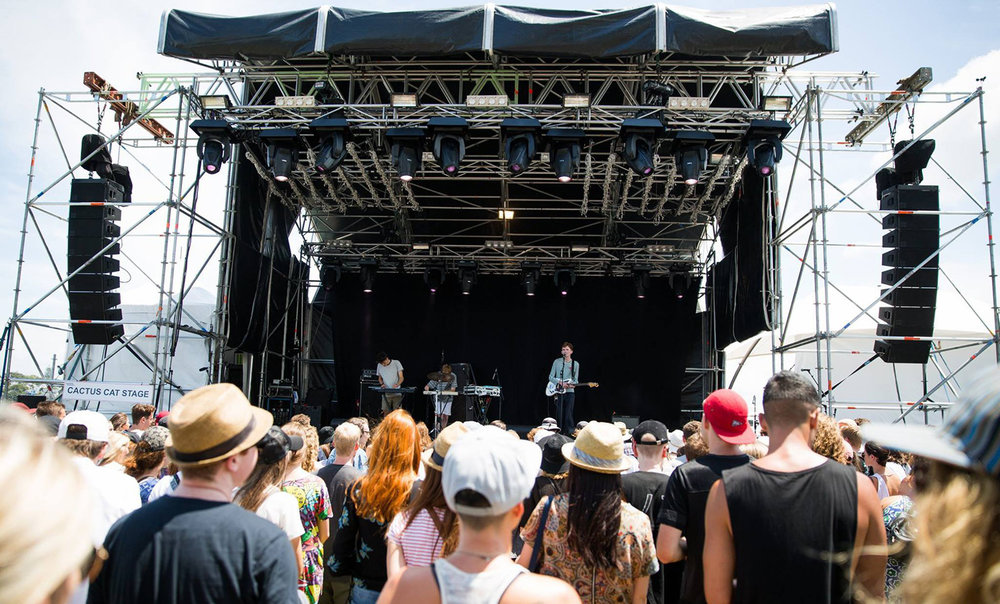 Laneways 2016 Cactus Cat Stage