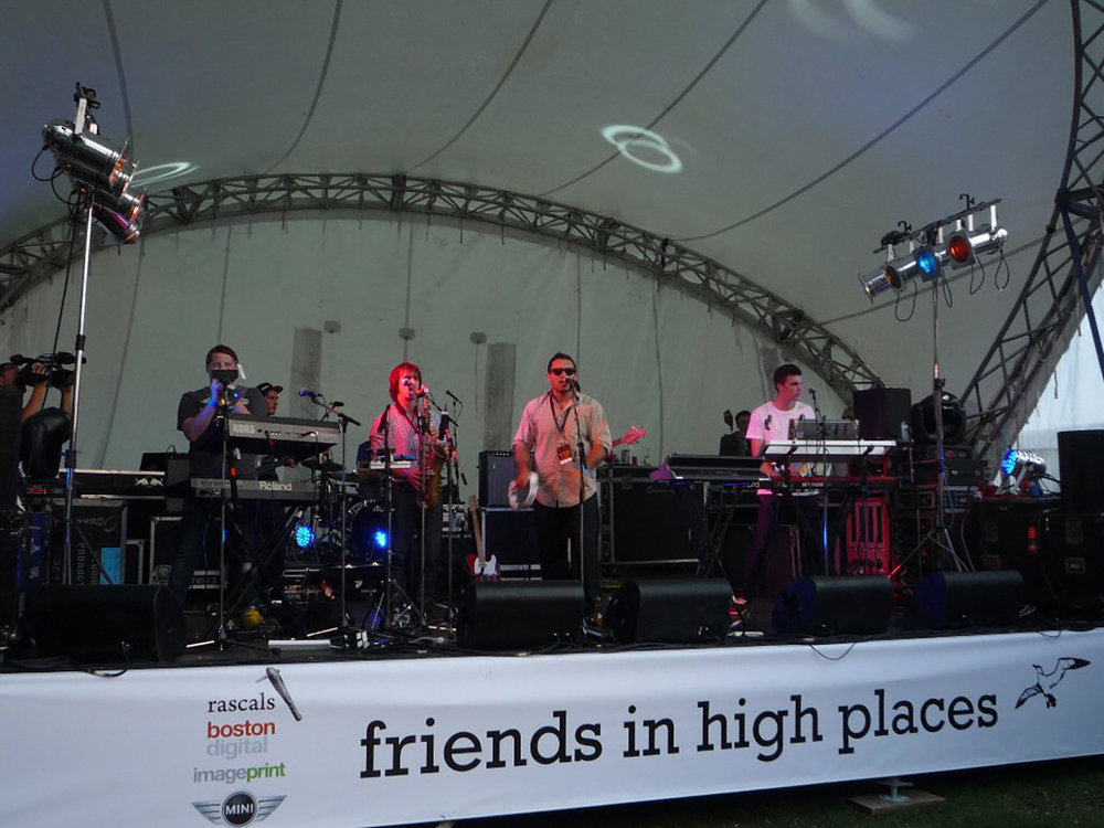 Friends in High Places – Mission Bay