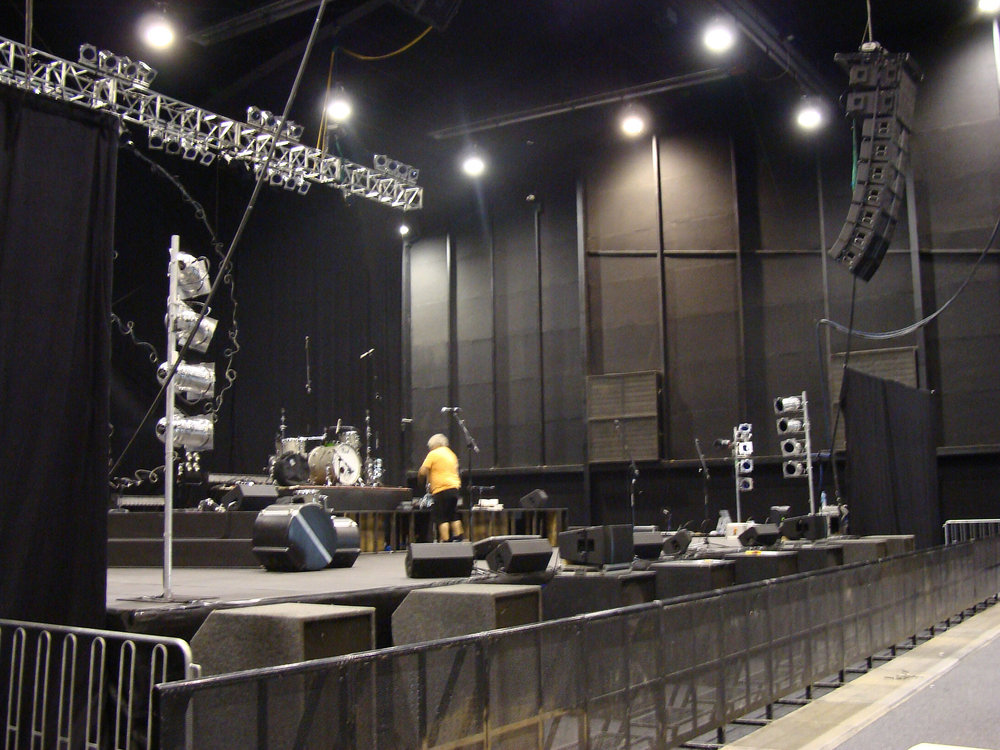Indoor Auditorium Stage