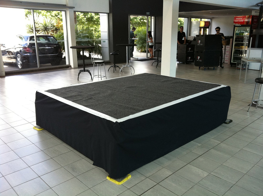 Showroom Stage for Porsche