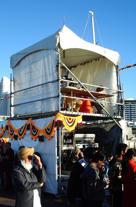 Diwali 2008 – FOH and Judges Platform