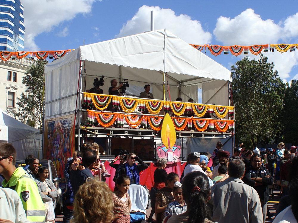Diwali 2010 – FOH and Judges Platform