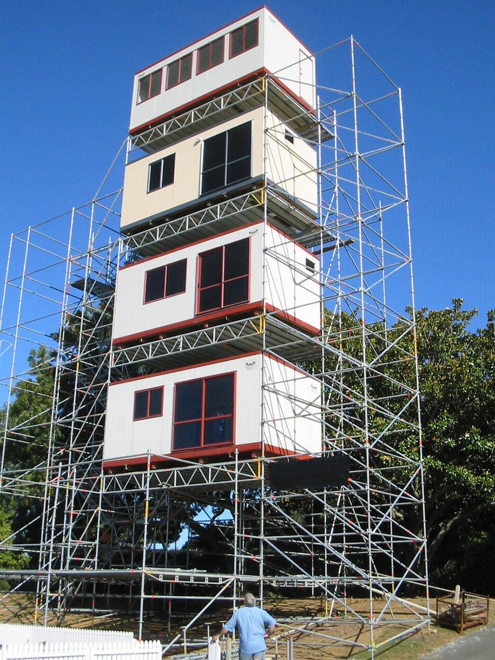 Portacom Broadcasting Tower