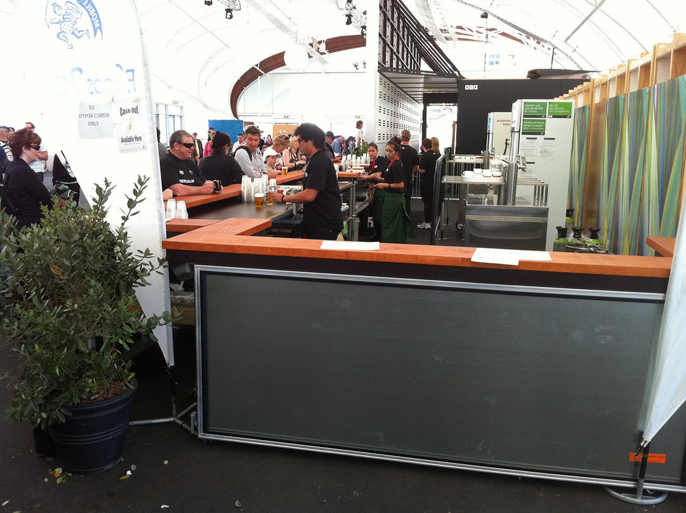 Mobile Bar on Wheels – RWC, The Cloud 2011