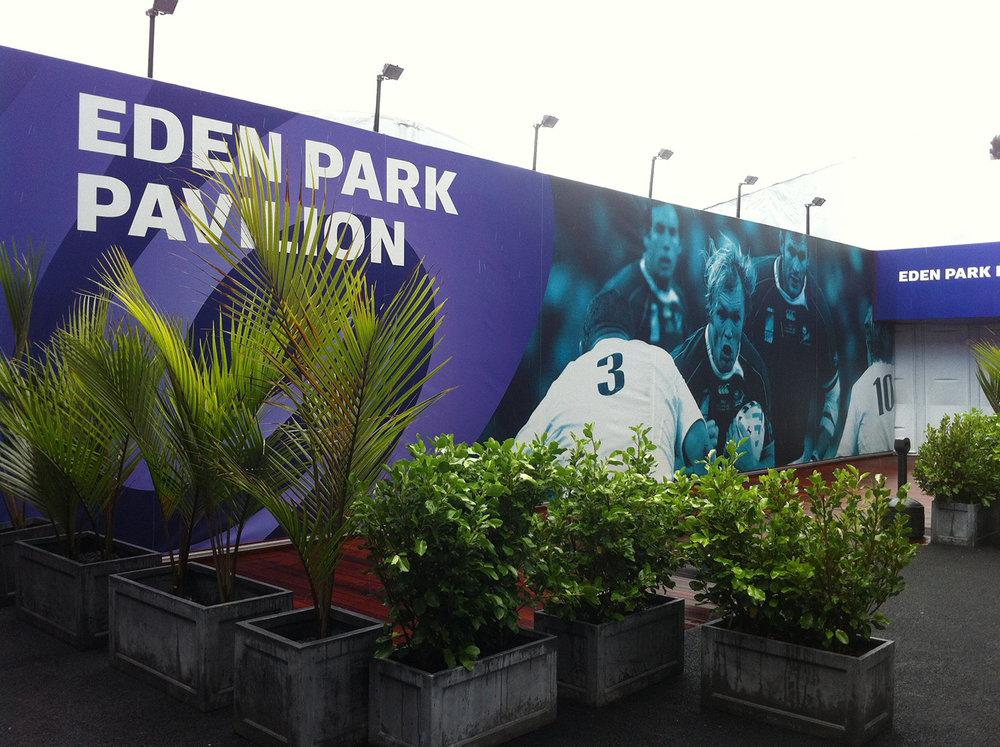 RWC 2011, Eden Park